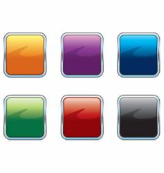 Chrome colorful internet icons vector