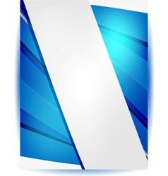 Abstract header blue vector