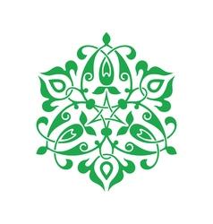 Arabesque decor vector image vector image
