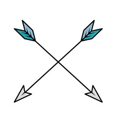 Arrows icon image vector