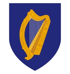 coat of arms of Ireland vector image vector image