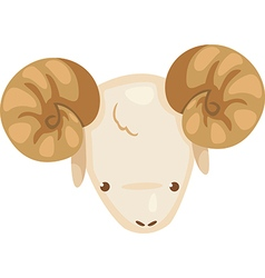 Aries vector image vector image