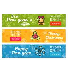 Colorful sale cards last chance buy now best price vector