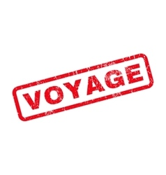 Voyage rubber stamp vector