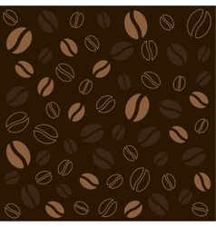 coffee background texture vector image