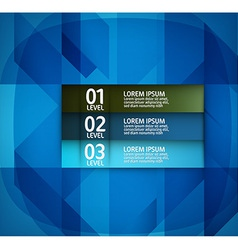 Modern Blue Layout Design vector image