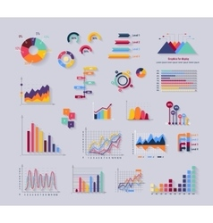 Data Tools Finance Diagramm and Graphic vector image