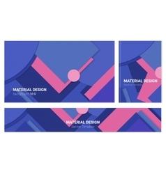 Abstract material design backgound vector
