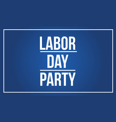 Background labor day style collection vector