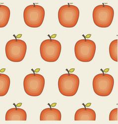 Background of apple fruit vector