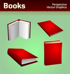 books graphics vector image