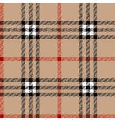classic tartan vector image vector image