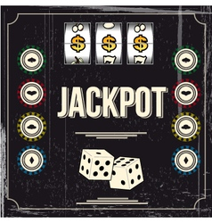jackpot vector image vector image