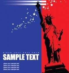 American brochure vector image vector image