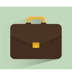Business briefcase design vector image