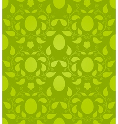 Eastern eggs seamless pattern vector image
