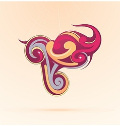 Graffiti as graphic design element vector