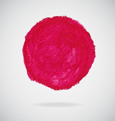 watercolor circle vector image vector image