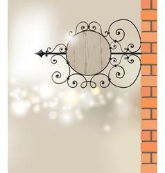 signboard vector image