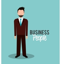 Business people or businessman vector