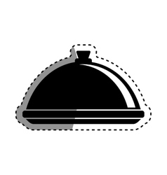 Restaurant dishware utensil vector
