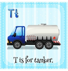 Tanker vector image vector image