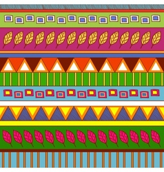 Tribal abstract pattern vector image