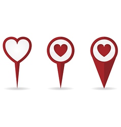 Heartlocationpointer vector