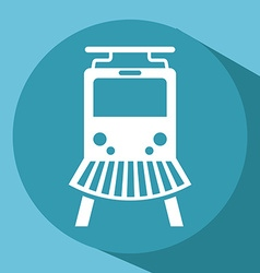 Train icon vector