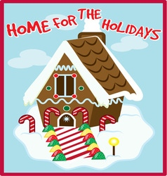 Holiday home vector