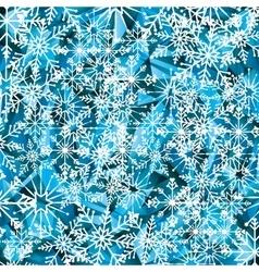 Winter background design vector