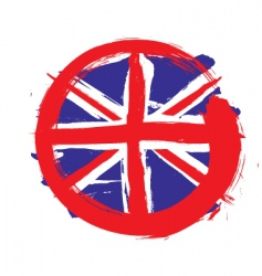 England circle flag vector