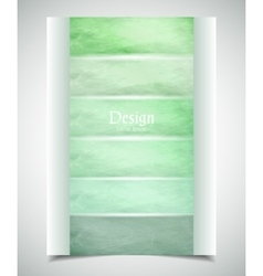 Cover design colored scratched stripes vector