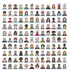 characters vector image