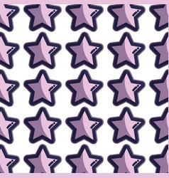 cute light stars in the sky background vector image vector image