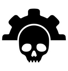 Dead tools flat icon vector