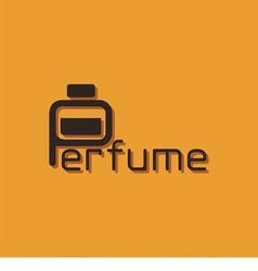 Logo Word Perfume vector image vector image