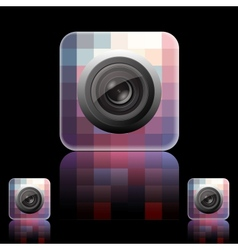 Photo Icon vector image vector image