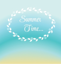 Summer Holidays Poster vector image vector image