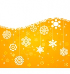 winter background4 vector image vector image