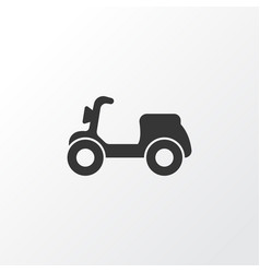 Moped icon symbol premium quality isolated vector