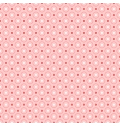 Red dots pattern seamless vector