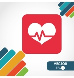 Cardio icon design vector