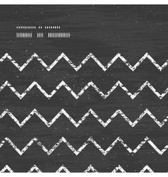 Chalk chevron blackboard horizontal frame seamless vector