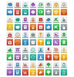 Communication media icons vector