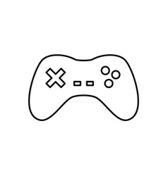 gamepad device isolated vector image vector image