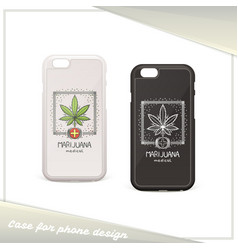 Medica marijuana case seven vector