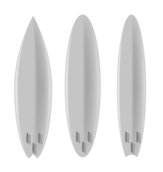 Set of Board for Surfing vector image