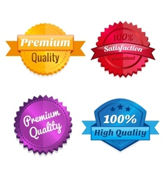 Set of product offer emblems vector image