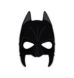 Superhero mask vector image